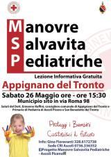 Manovre salvavita pediatriche: lezione informativa gratuita – Appignano del Tronto(AP)